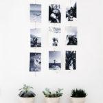 Come decorare le pareti con foto e ricordi.