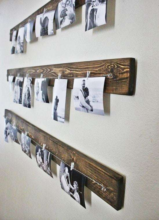 decorare pareti con foto