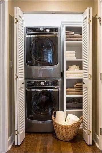 Lavanderia utile e funzionale, ecco come ricavarla in pochi metri quadri.