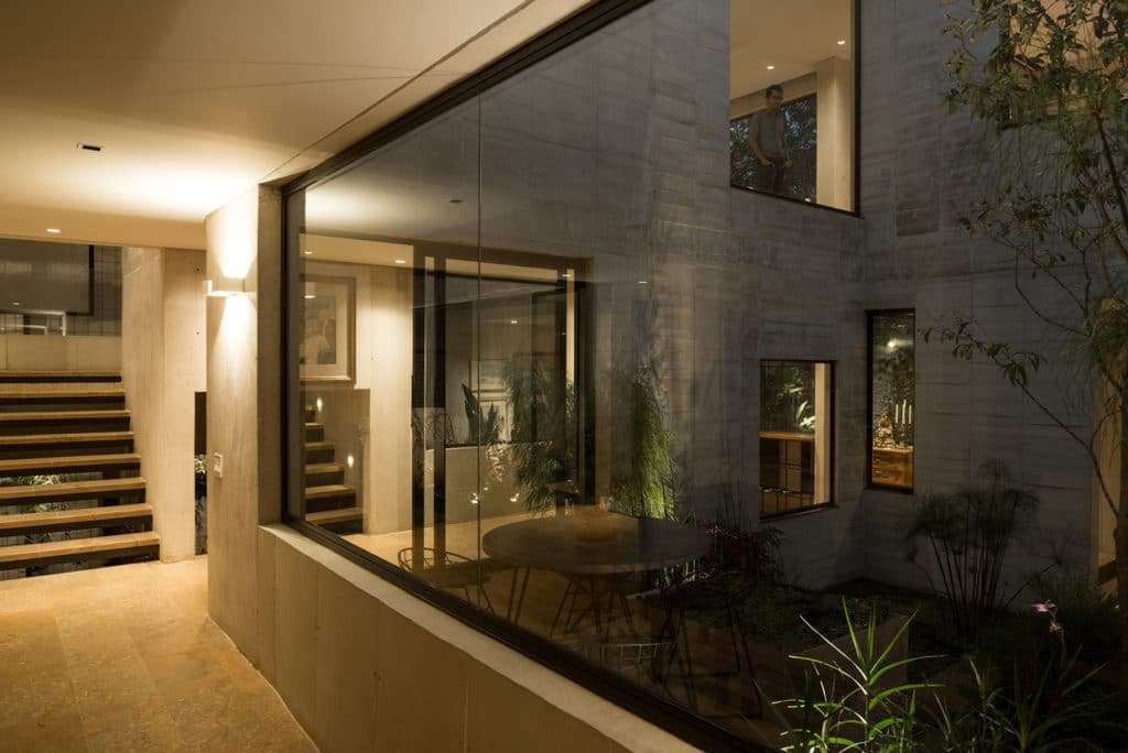 Una Garden House progettata da Connatural Arquitectos.