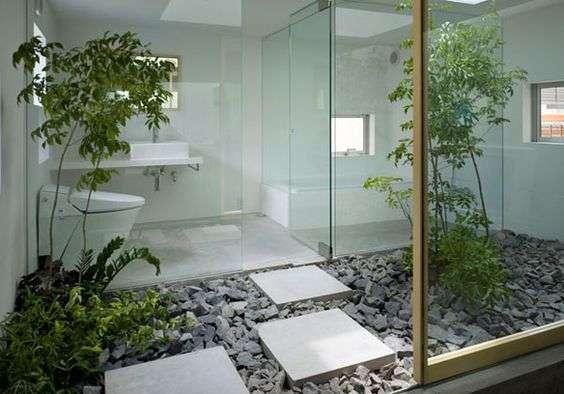 Serra per piante design per il terrazzo - Giardino interno casa ...