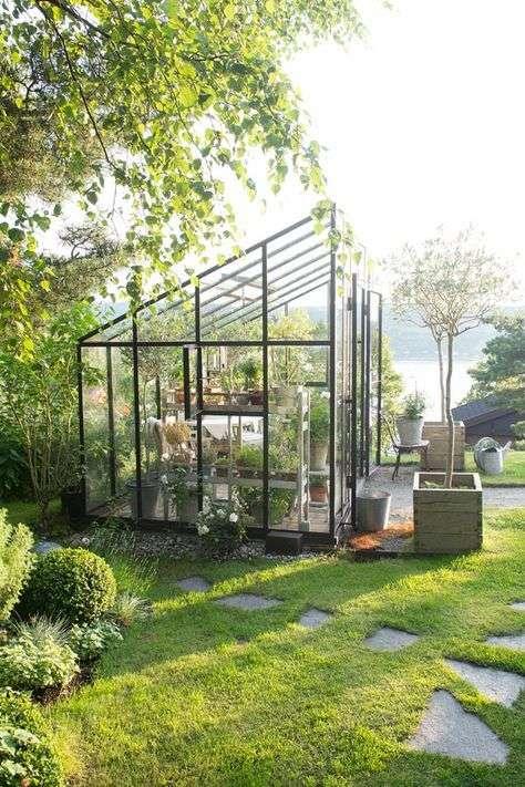 Serra per piante strutture di design per il tuo terrazzo