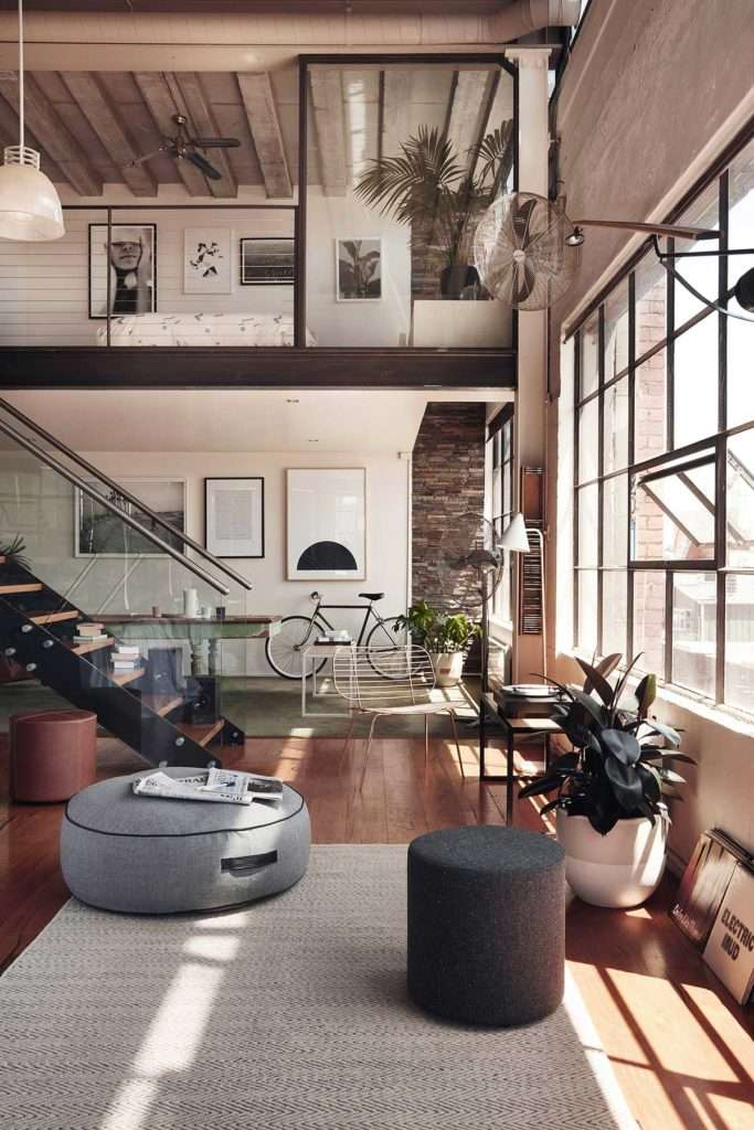 industrial style loft