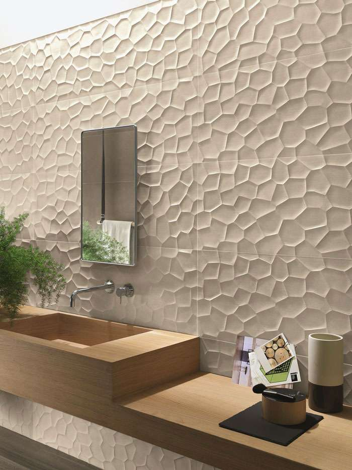 3D TILES: TRIDIMENSIONAL IDEAS FOR BATHROOMS