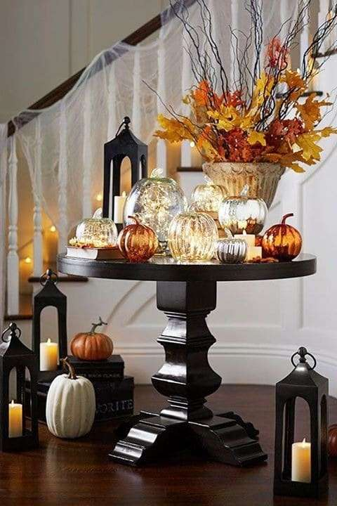 halloween home decor foglie
