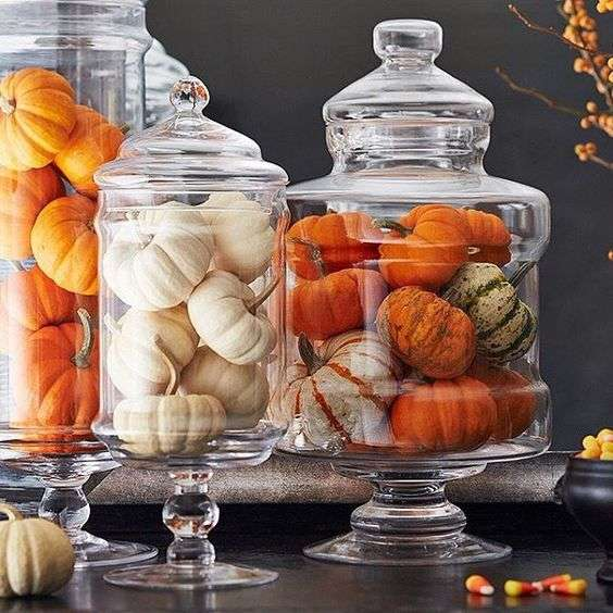 halloween home decor vasi