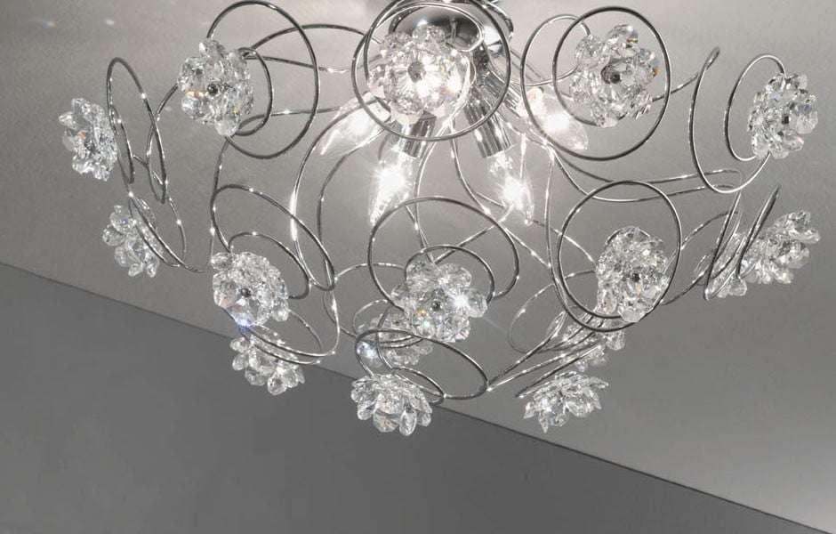 Lampadari moderni in vetro per il soggiorno fillyourhomewithlove