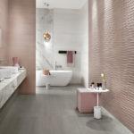 Piastrelle 3d: idee per il bagno tridimensionali!