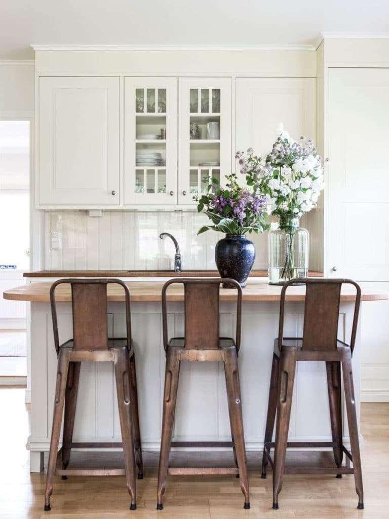 Sgabelli di design legno e metallo per cucina - Sgabelli in legno per cucina ...