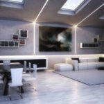 Tecnologia led: idee luminose per un soggiorno originale