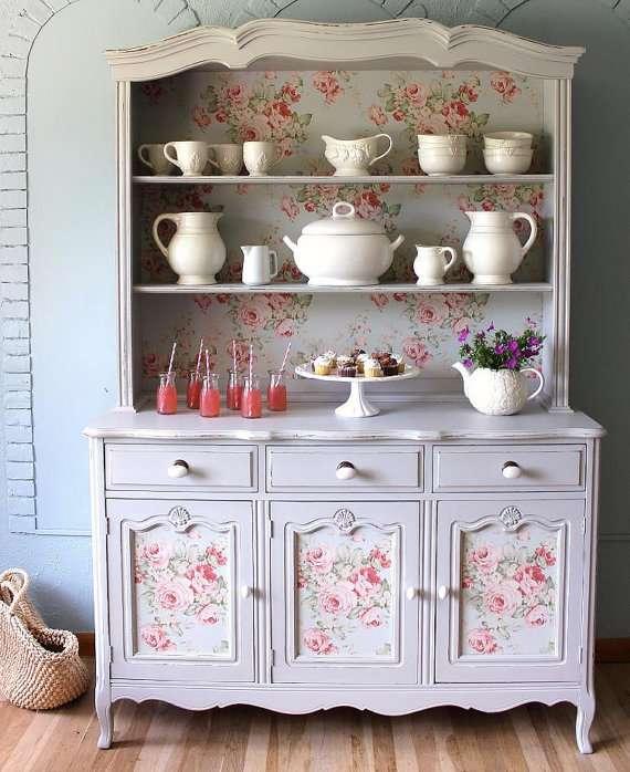arredamento stile shabby chic cabinet