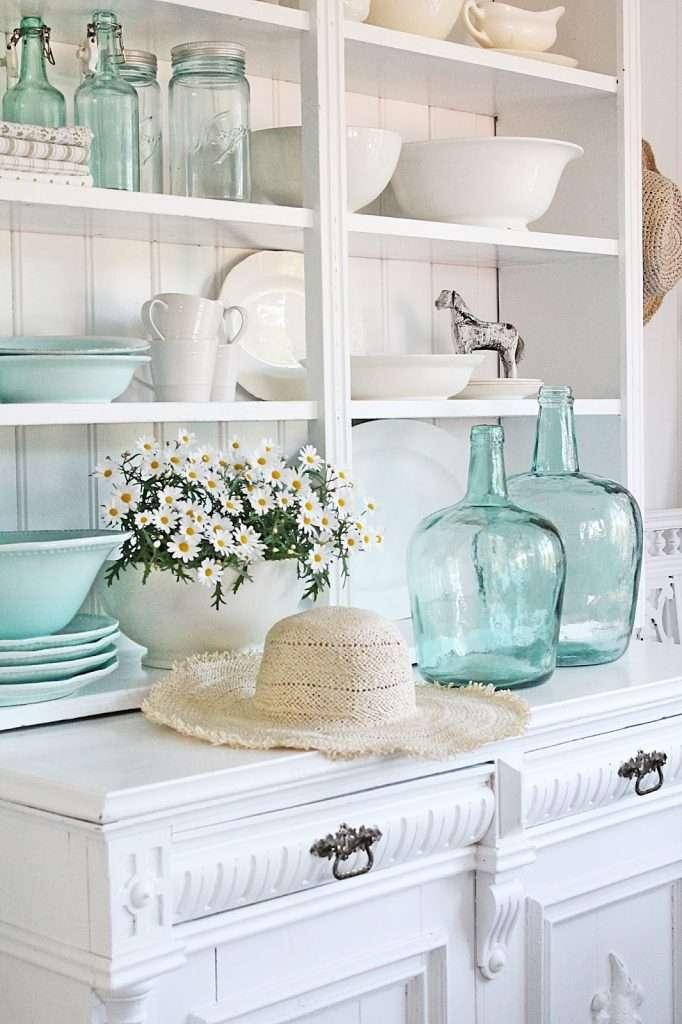 Arredamento stile shabby chic per soggiorno | Fillyourhomewithlove