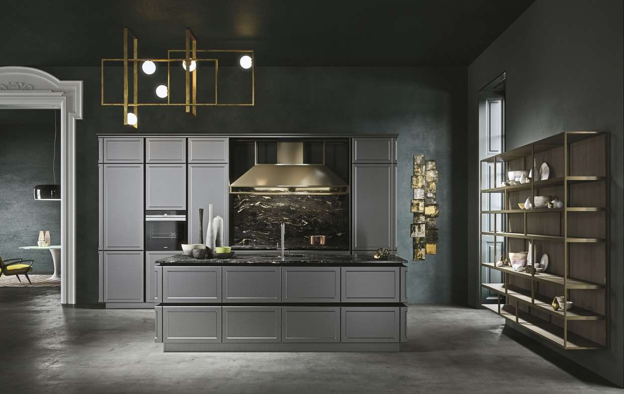 Cucine snaidero il design made in italy for Cucine italiane design moderne