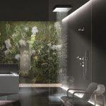 Soffioni doccia e benessere in casa: le tendenze