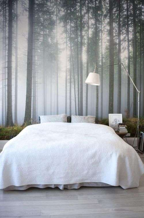 Preferenza Carta da parati per la camera da letto | Blog Fillyourhomewithlove HI82