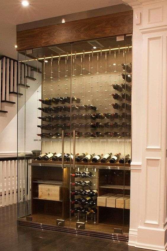 cantinetta vino climatizzata armadio