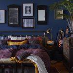 Colori pareti camera da letto: il blu