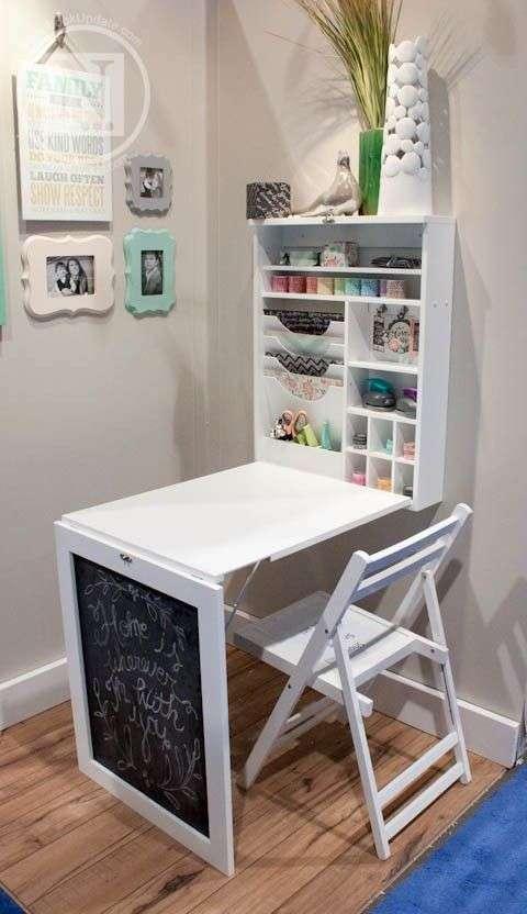 Idee camera da letto piccola blog arredamento fillyourhomewithlove - Letto con scrivania estraibile ...