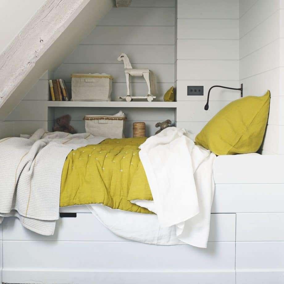 idee per camere da letto piccole mobili da incasso