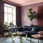 Colori pareti soggiorno: la tinta unita opaca rosa