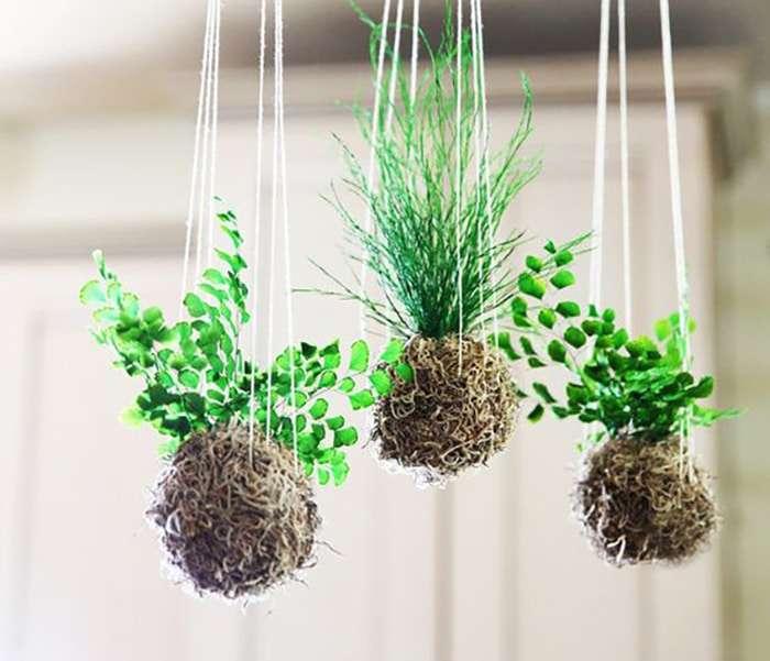 Kokedama idee per giardini sospesi blog fillyourhomewithlove for Idee originali per il giardino