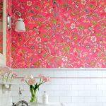 Carta da parati per bagno: 10 colori che non ti aspetti