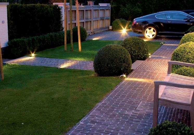 Illuminazione esterna da terra valastro lighting illuminazione