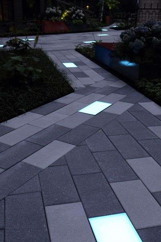 Illuminazione giardino elementi fondamentali for Pavimento da giardino