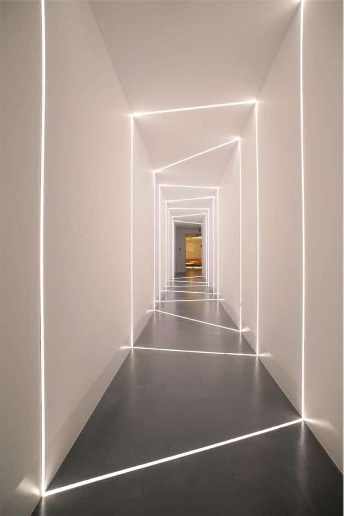 luci led lineari minimaliste