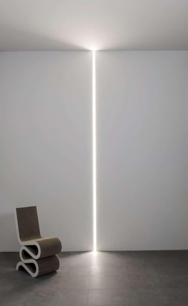 luci led minimaliste verticali