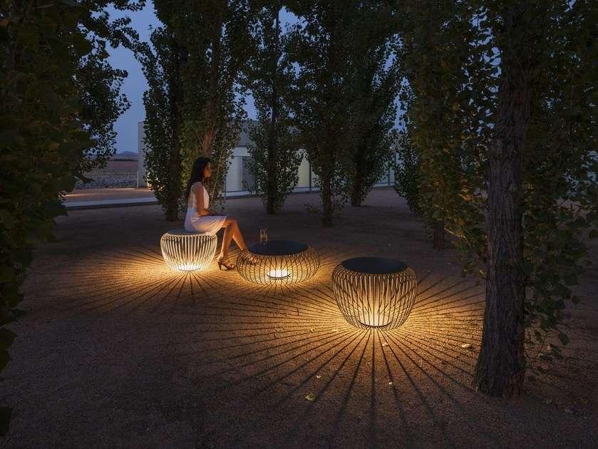 luci per esterno con seduta