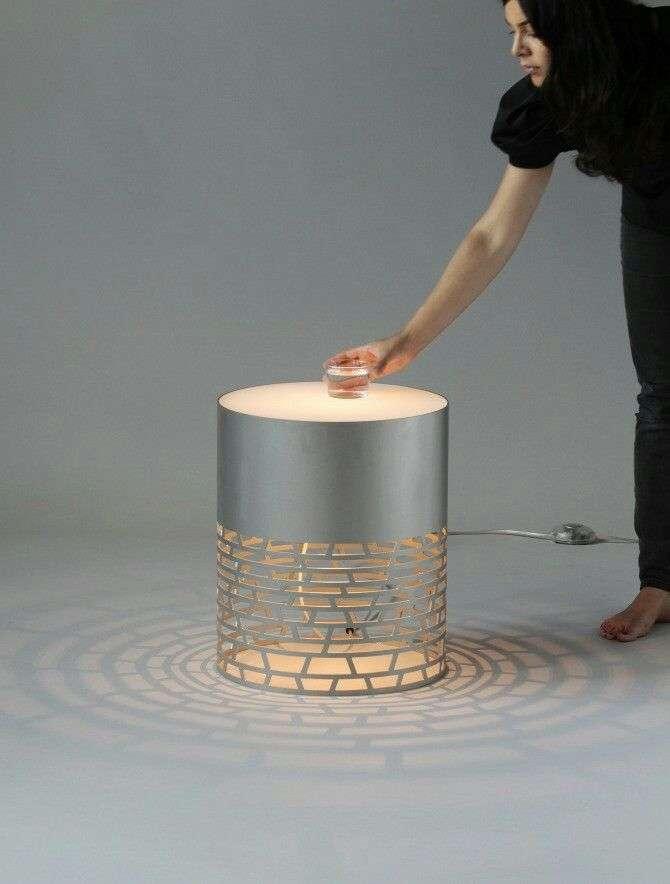 luci per esterno in pvc tavolino