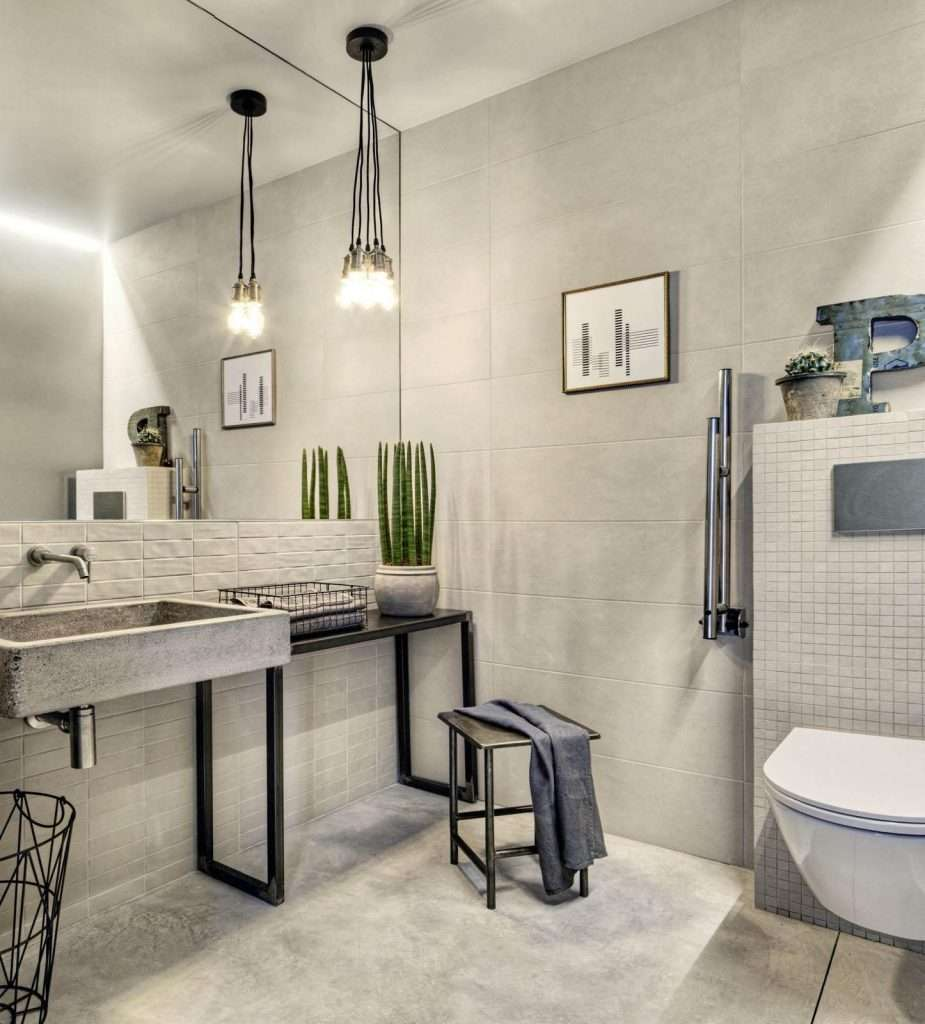 pendenti semplici per bagno con lampadina