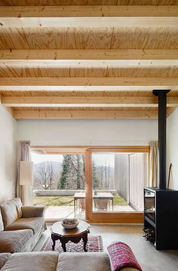 casa in legno vacanze
