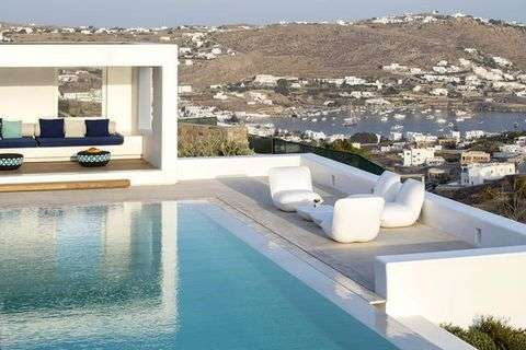 casa a Mykonos di design
