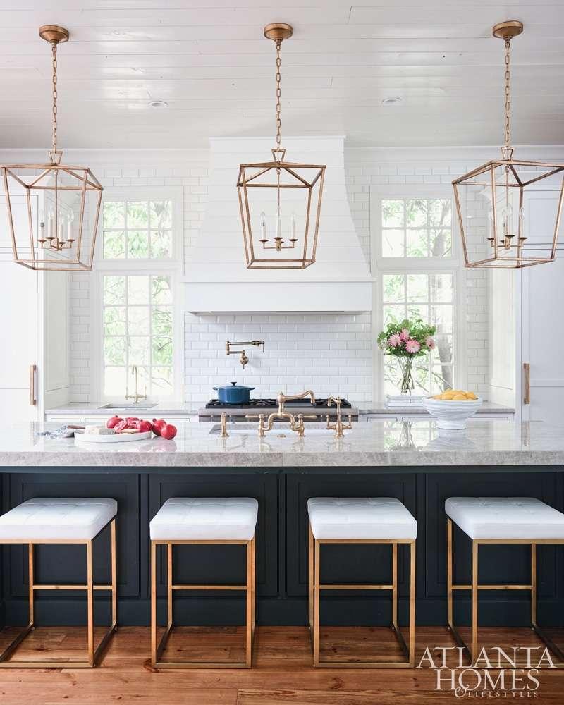 lampadari da cucina in metallo