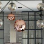 Lampadari da cucina: quando trionfa il metallo