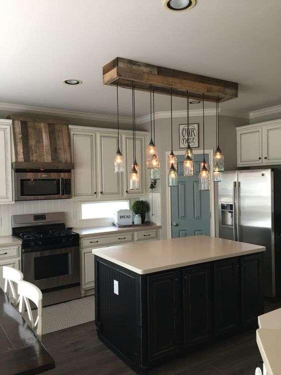 Lampadari da cucina in metallo | Blog arredamento Fillyourhomewithlove