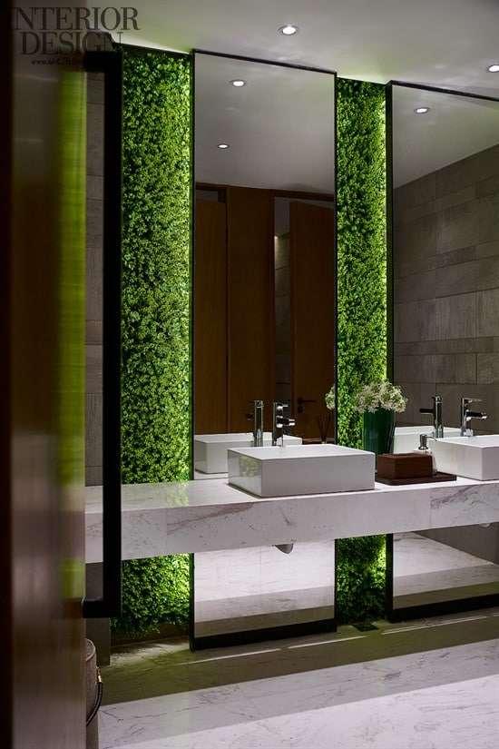 Specchio per bagno doppio 10 idee minimal fillyourhomewithlove - Specchi retroilluminati per bagno ...