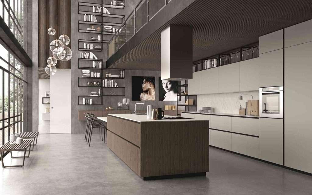 cucine in stile industriale evolve cucinesse