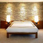 Pareti in pietra camera da letto: 5 soluzioni