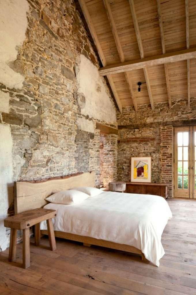 Pareti in pietra camera da letto soluzioni - Parete in pietra camera da letto ...