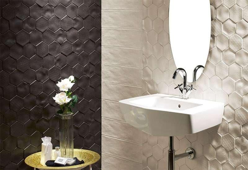 piastrelle 3d bagno