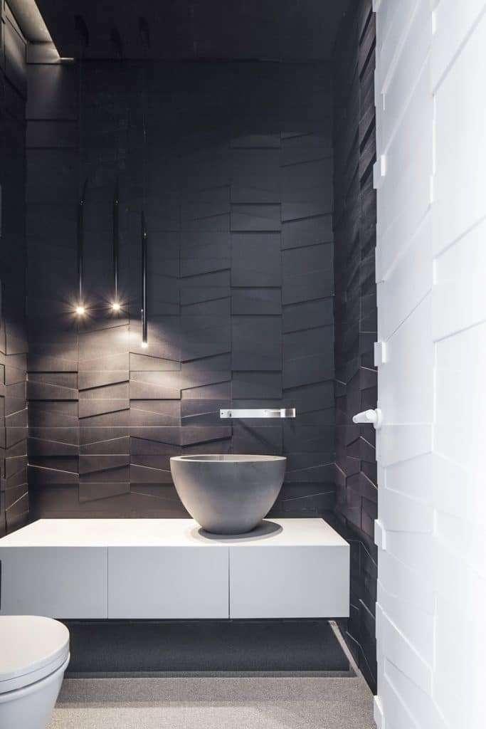 piastrelle 3d bagno dislivello