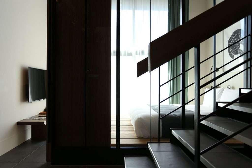 trunk hotel tokyo terrace suite bedroom