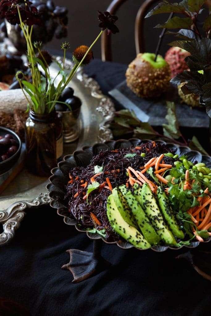 apparecchiare la tacola ad halloween piatti vegetariani