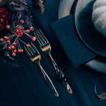 Apparecchiare la tavola ad Halloween con eleganza