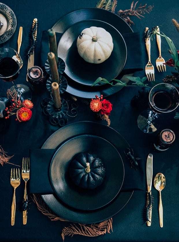 apparecchiare la tavola ad halloween