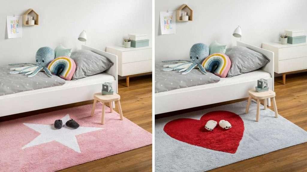 Camerette per bambini con tappeti originali