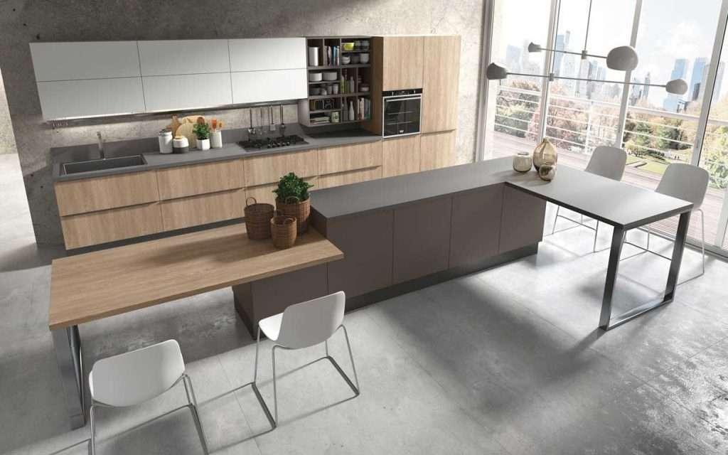 Dispensa cucina e piani di lavoro cucinesse - Piani di lavoro cucina materiali ...